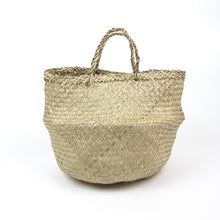 Load image into Gallery viewer, Woven rafia basket