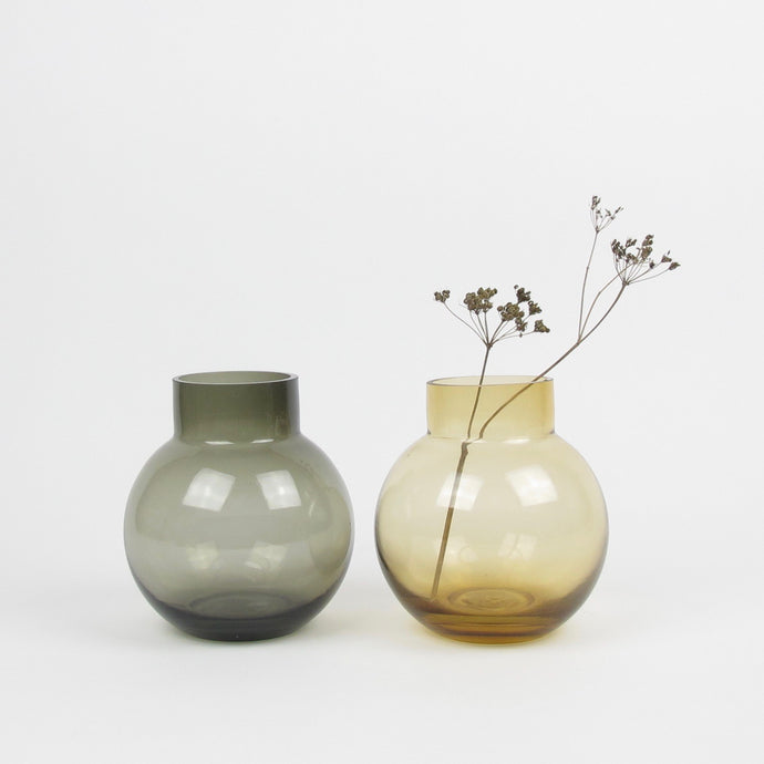Bubblan glass vase