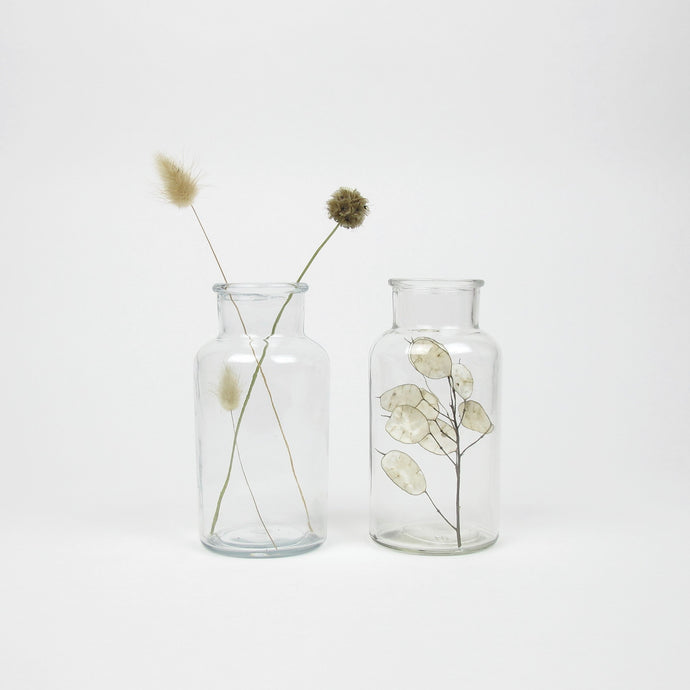 Duo dried flowers in vase No1