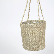 Load image into Gallery viewer, Hanging woven basket