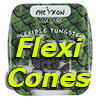Chevron Hackles Flexi Cones