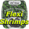 Chevron Hackles Flexi Shrimps