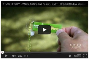 Video of Smith Creek Trash Fish Tool