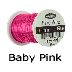 Semperfli Ultrafine Wire Baby Pink