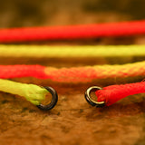 Bicolour ringed Nymphing Indicator Stroft Micro Ringed Fluoro Braid