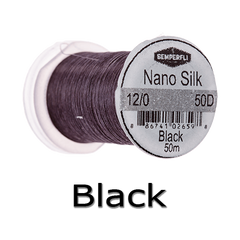 Semperfli 12/0 Black nano