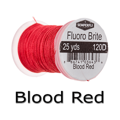 Semperfli Fluoro Brite Blood Red