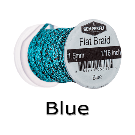 Semperfli Flat Braid | Tungsten Beads Plus