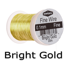 Semperfli Ultrafine Wire Bright Gold