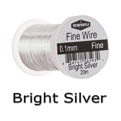Semperfli Ultrafine Wire Bright Silver
