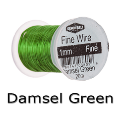 Semperfli Ultrafine Wire Damsel Green