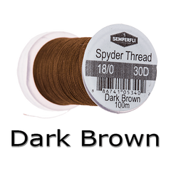 Semperfli Spyder Thread Dark Brown
