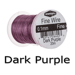 Semperfli Ultrafine Wire Dark Purple