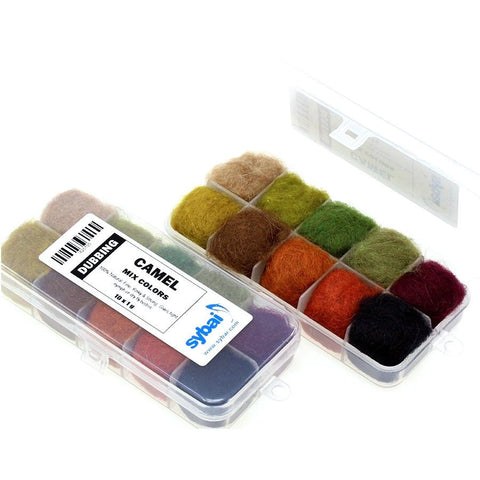 Camel Dubbing Box Mixed Colours