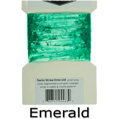 Semperfli Swiss Straw Emerald