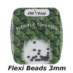 Chevron Hackles Flexi Beads 3mm