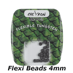 Chevron Hackles Flexi Beads 4mm