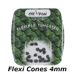 Chevron Hackles Flexi Cones 4mm