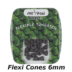 Chevron Hackles Flexi Cones 6mm