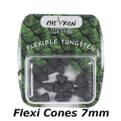 Chevron Hackles Flexi Cones 7mm