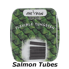 Chevron Salmon Tubes Flexible Tungsten Tubes