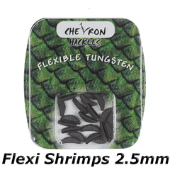 Chevron Hackles Flexi shrimps 2.5mm