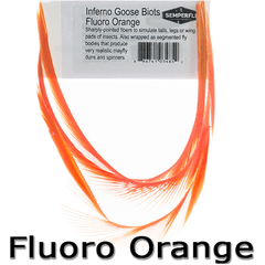 Semperfli Goose Biots Fluoro Orange