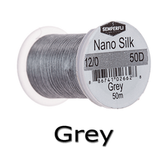 Semperfli 12/0 Grey nano