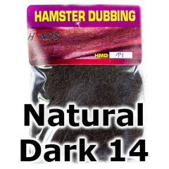 Hends Dubbing Hamster  Natural Dark 14