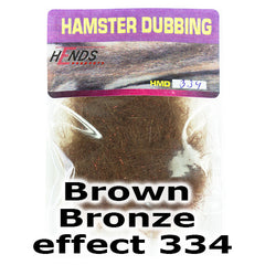 Hends Dubbing Hamster Plus  Brown Bronze effect 334