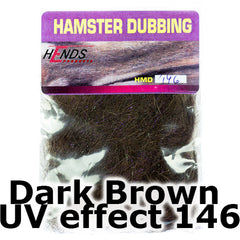 Hends Dubbing Hamster Plus  Dark Brown UV effect 146