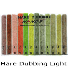 Hends Dubbing boxes, Hare Light shades
