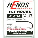 Hends 770 Saltwater Fly Hooks