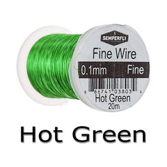 Semperfli Ultrafine Wire Hot Green