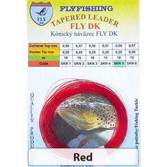 Dohiku Fly DK French Nymph Tapered Leaders Red