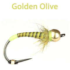 Grayling Attractor Goldhead Golden Olive