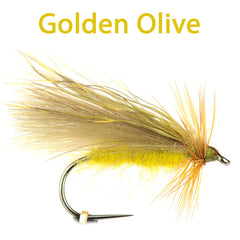 CDC and Elk Caddis Variant, Golden olive
