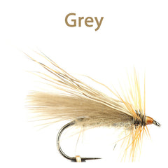 CDC and Elk Caddis Variant, grey
