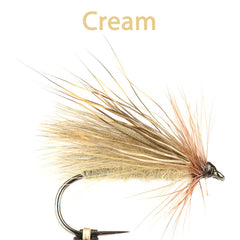 CDC and Elk Caddis Variant, cream