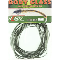 Hends MICRO Body Glass Half Round Black