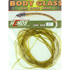 Hends MICRO Body Glass Half Round Olive