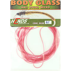Hends MICRO Body Glass Half Round Pink