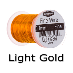 Semperfli Ultrafine Wire Light Gold