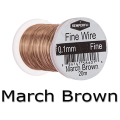 Semperfli Ultrafine Wire March Brown