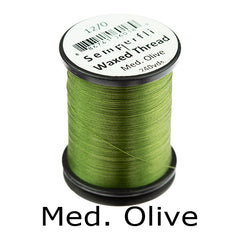 Semperfli Waxed Thread 12 0 Med. Olive