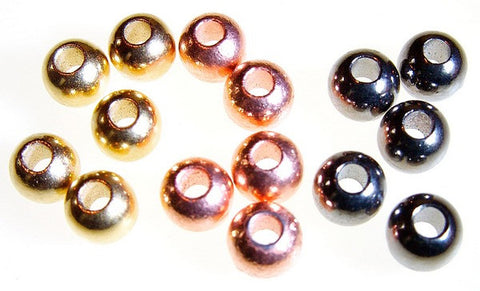 Gold, Copper and Black Nickel coated Tungsten Beads