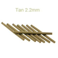Micro Foam Cylinders Tan 2.2mm