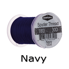 Semperfli Spyder Thread Navy