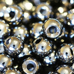 Silver coated countersunk tungsten beads