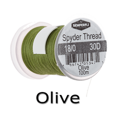 Semperfli Spyder Thread Olive